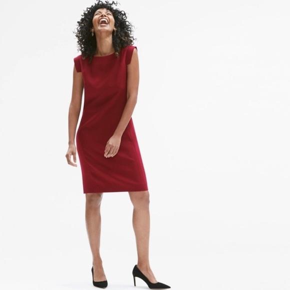 MM Lafleur Dresses & Skirts - MM LaFleur The Sarah Dress 0P Red Brick
